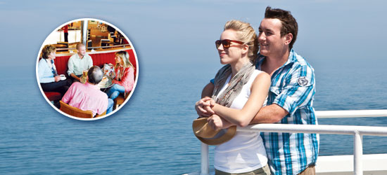 Book above for 20% off Dover-Calais!