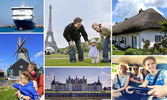 Best prices for ferries to France, Ireland, Holland and Spain!